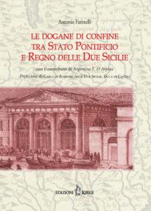 Copertina - Antonio Farinelli - Le dogane di confine_ISBN