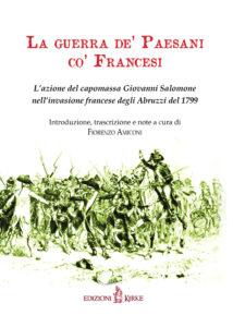 Copertina Fiorenzo Amiconi - La guerra de' paesani_ISBN